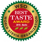 The World Stevia Organization awarded Sweetleaf Organic Stevia for the best Stevia Product of the Year
