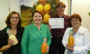 World Stevia Organisation awarded granini for Stevia Innovation 2014